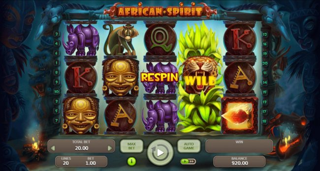 African Spirit screenshot