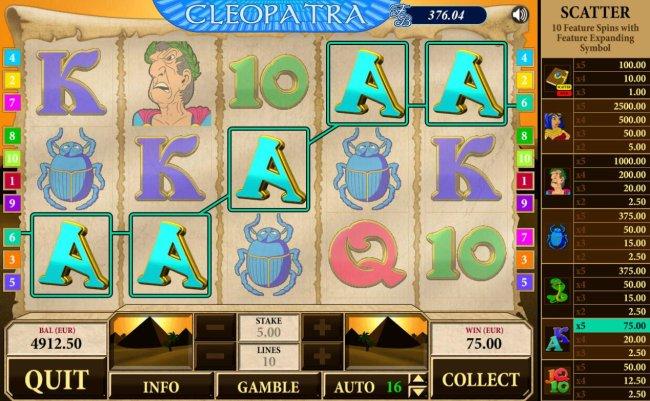 Cleopatra by Free Slots 247