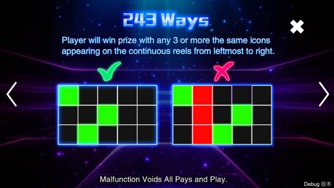 243 Ways to Win by Free Slots 247