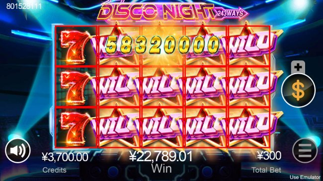 Stacked symbols lead to a big win by Free Slots 247