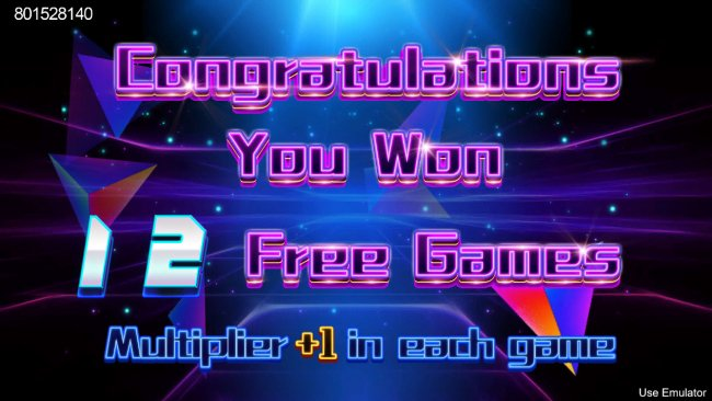 Free Slots 247 - 12 Free Games Awarded