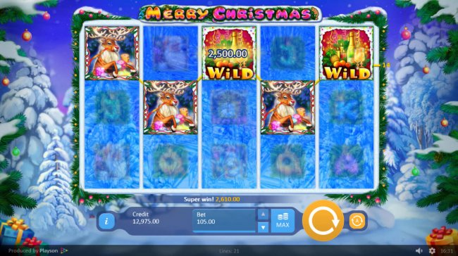 Merry Christmas by Free Slots 247