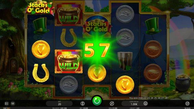 Free Slots 247 image of Stacks O' Gold