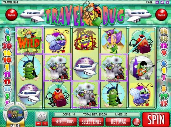 Free Slots 247 image of Travel Bug