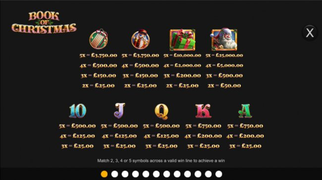 Free Slots 247 image of Book of Christmas