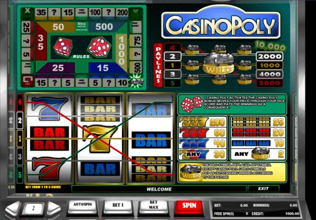 CasinoPoly by Free Slots 247