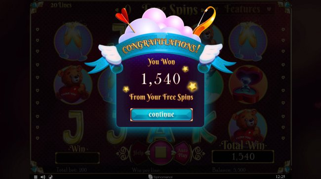 Free Slots 247 - Total Free Spins Payout