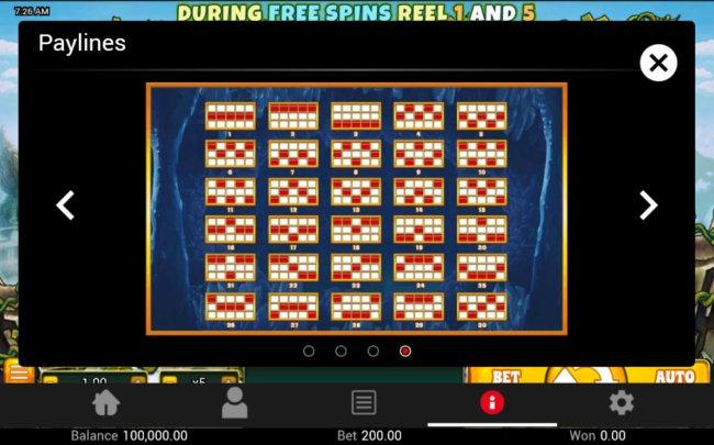 Paylines 1-30 - Free Slots 247