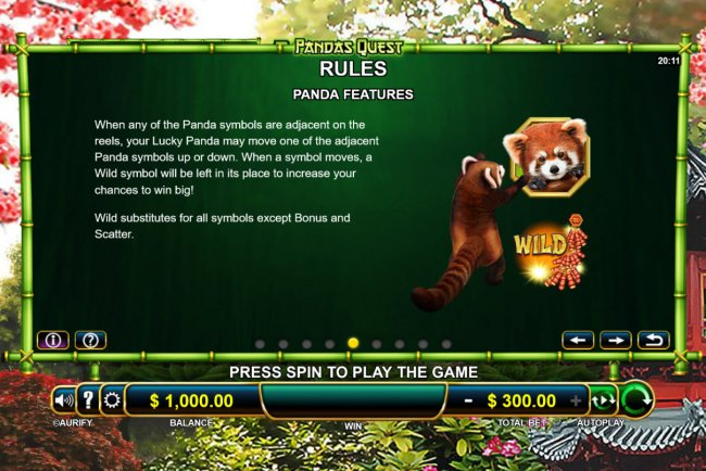 Pandas Quest screenshot