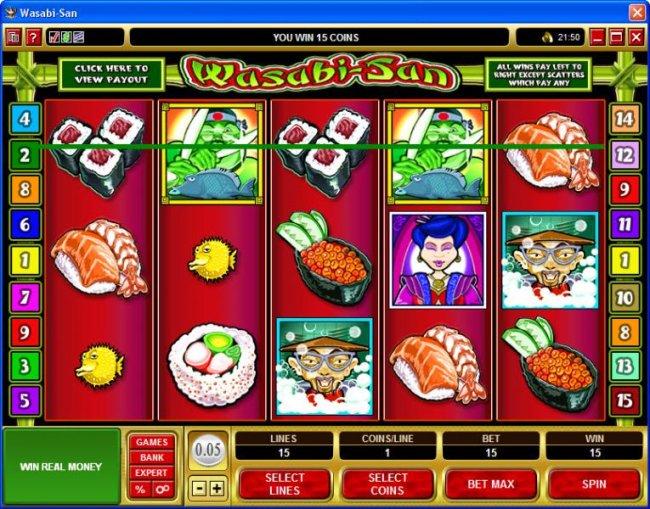 Wasabi-San screenshot