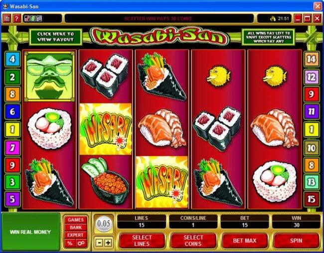 Free Slots 247 image of Wasabi-San