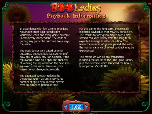 100 Ladies screenshot