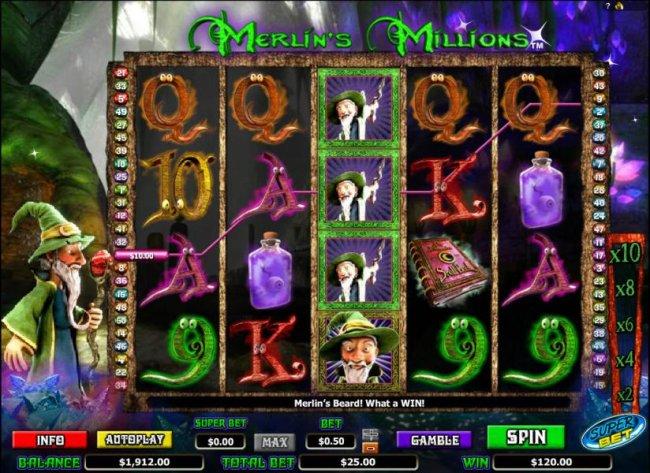 Free Slots 247 image of Merlin's Millions