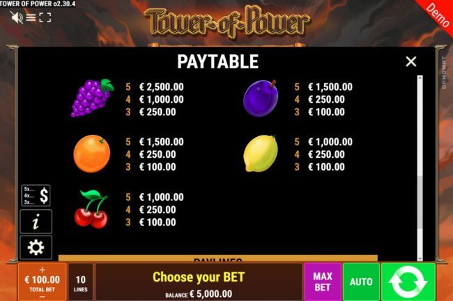 Free Slots 247 image of Tower of Power