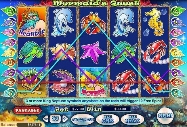 Free Slots 247 image of Mermaid's Quest