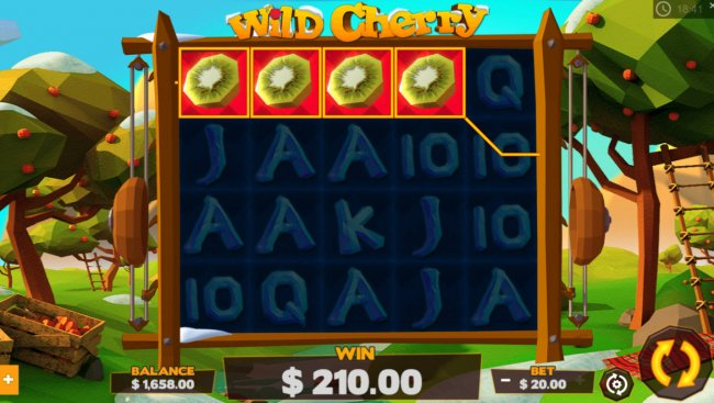 A winning four of a kind - Free Slots 247