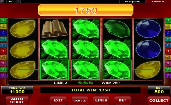 Game pays on middle reels as well by Free Slots 247