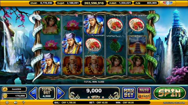 Free Slots 247 image of Legends of the White Snake