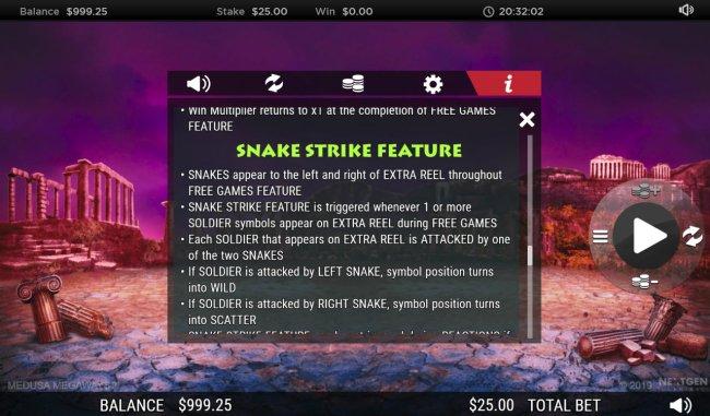 Free Slots 247 - Snake Strike Feature