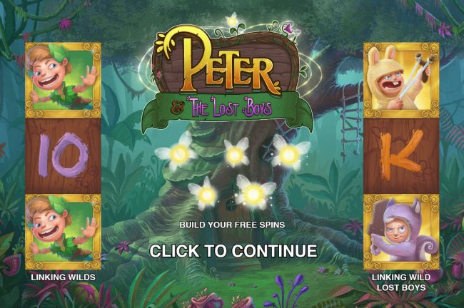 Free Slots 247 image of Peter and the Lost Boys
