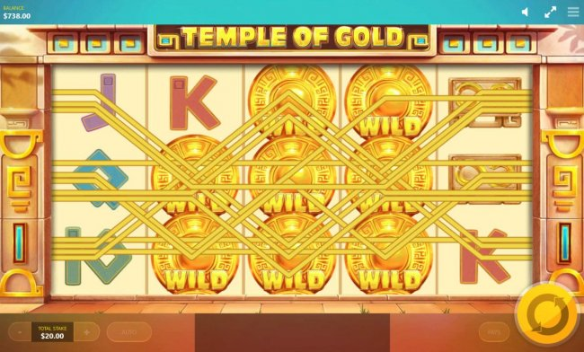 Wild Reels feature triggers multiple winning paylines by Free Slots 247