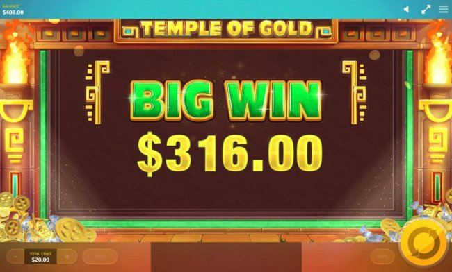 Special Feature pays out a 316.00 jackpot. - Free Slots 247