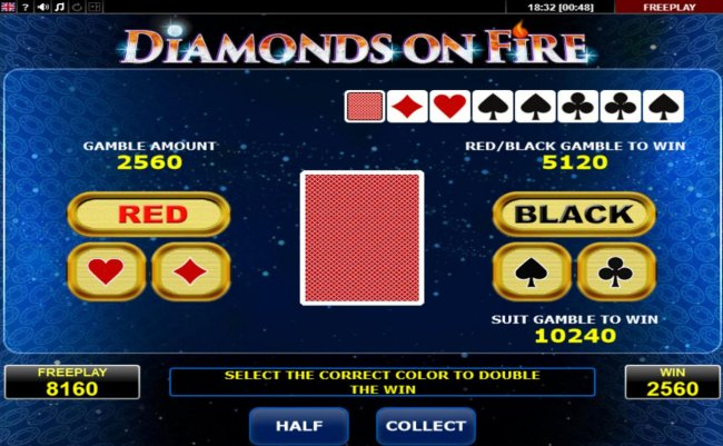 Free Slots 247 image of Diamonds on Fire