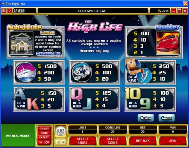 The High Life by Free Slots 247