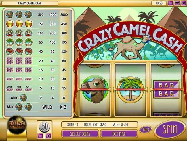 Images of Crazy Camel Cash