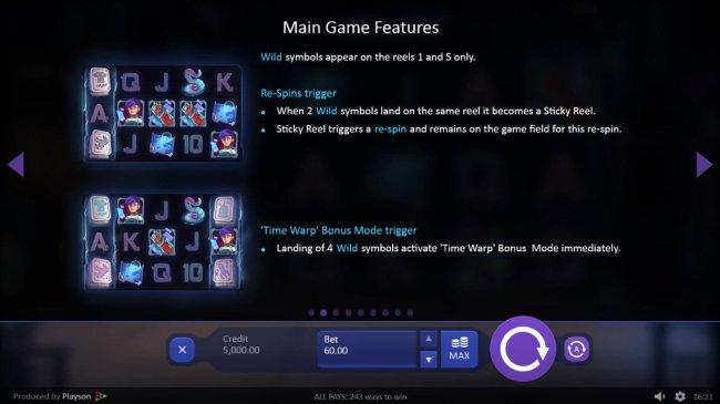 Time Warp Guardian by Free Slots 247