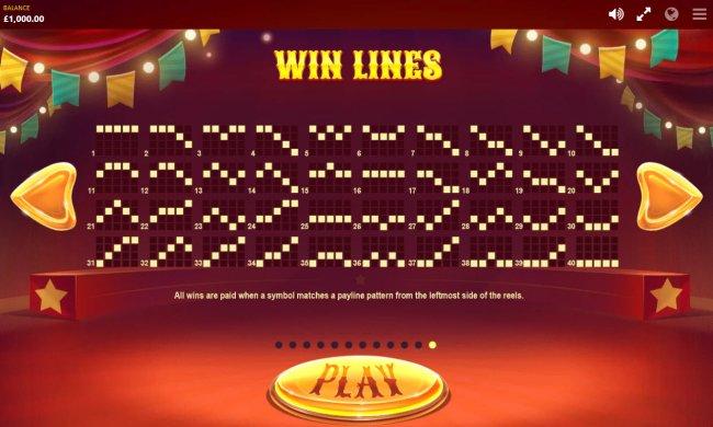 Paylines 1-40 - Free Slots 247