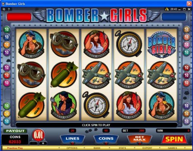 Bomber Girls screenshot
