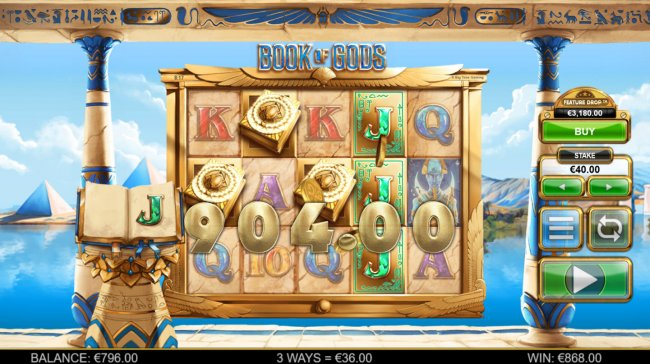 Free Slots 247 image of Book of Gods