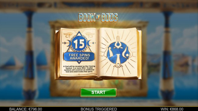Book of Gods by Free Slots 247
