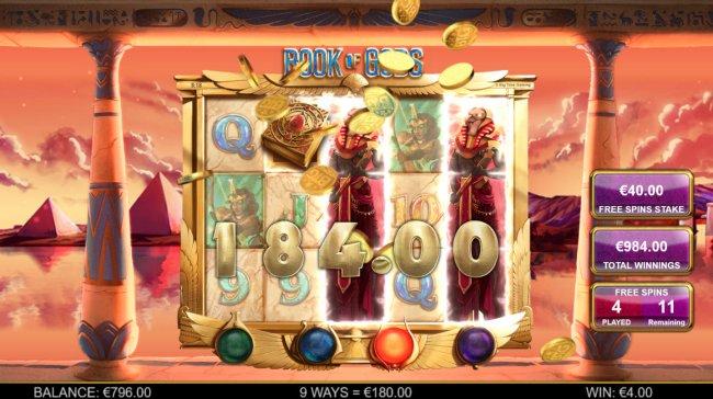 Free Slots 247 - Symbol Cloning feature triggers a big win