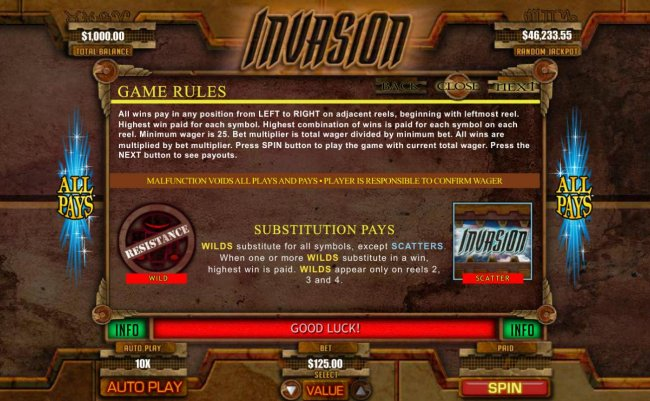 Invasion by Free Slots 247