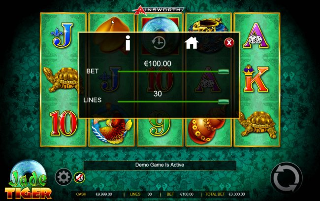 Jade Tiger by Free Slots 247