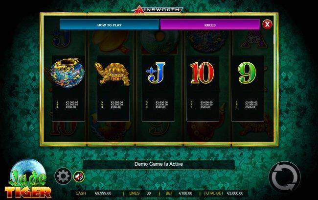 Medium Value Symbols by Free Slots 247