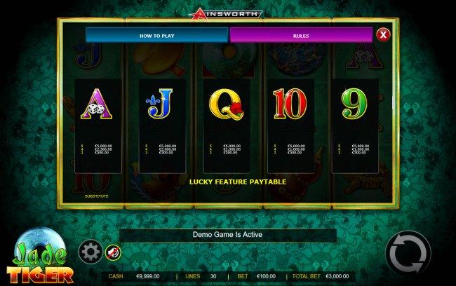 Free Slots 247 image of Jade Tiger