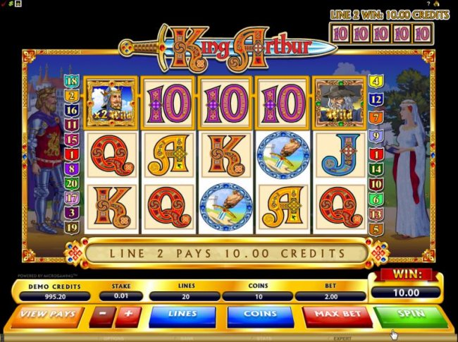 here is an example of a typical jackpot - Free Slots 247