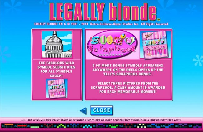 Legally Blonde by Free Slots 247