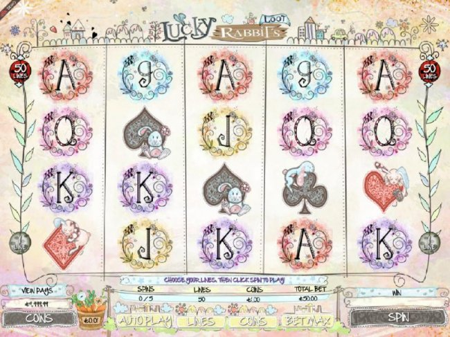 Lucky Rabbit's Loot by Free Slots 247