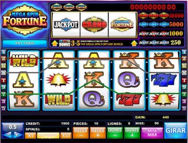 Mega Spin Fortune by Free Slots 247
