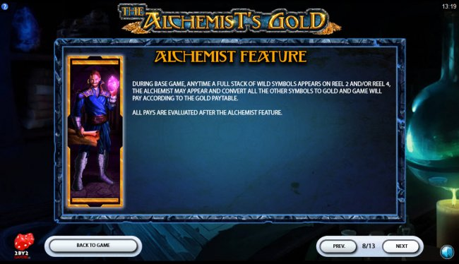 The Alchemist's Gold by Free Slots 247