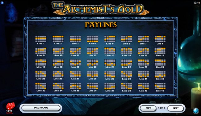 Paylines 1-40 - Free Slots 247