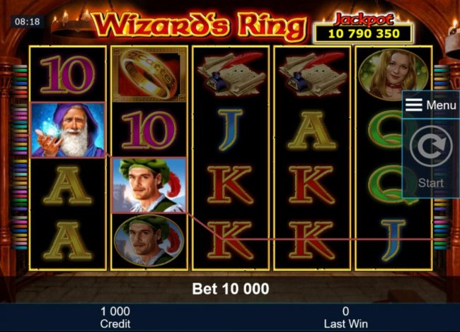 Main game board featuring five reels and 40 paylines with a progressive jackpot max payout. by Free Slots 247