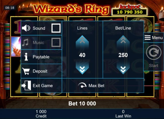 Wizard's Ring by Free Slots 247