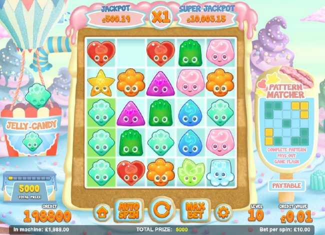 Free Slots 247 - Win prize awards when a basket is filled with the designated candy.