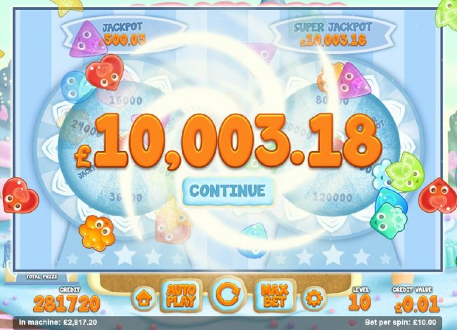 The Super Jackpot awarded. by Free Slots 247