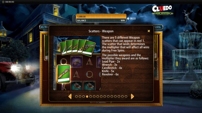 Free Slots 247 image of Cluedo Cash Mystery